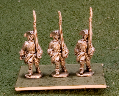 15GNS101 Swedish Musketeers, tricorn marching