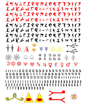 BMM2004 Spaceship Decal Sheet
