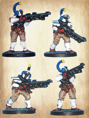 BMM124 Martian Infantry