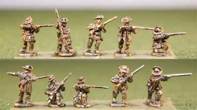 15AMR-08 Riflemen Skirmishing