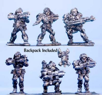 BMM-119 Space Mercenaries #6