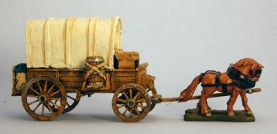 BMM1302 Covered Wagon