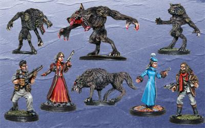 BMM100 Box 1  I Had Such a Howling Good Time - A Werewolf Scenario
