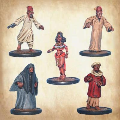 PC-03  Egyptian Agents