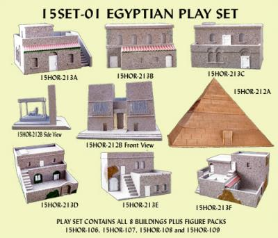 15SET-01 Egyptian Play Set