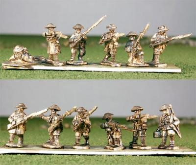 15WWI-301 Infantry Advancing